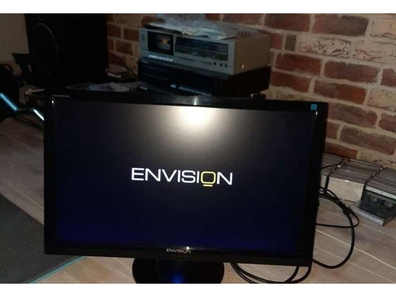 "Full hd hdmi 24""Envision h2476wd - 1/3"