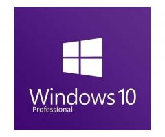 Активация и Установка Windows 10 Pro