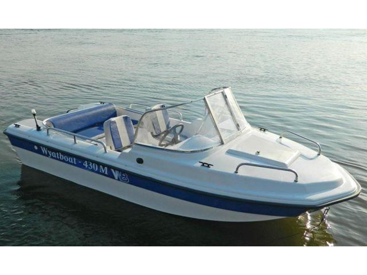 Новый катер Wyatboat 430M тримаран - 1/8