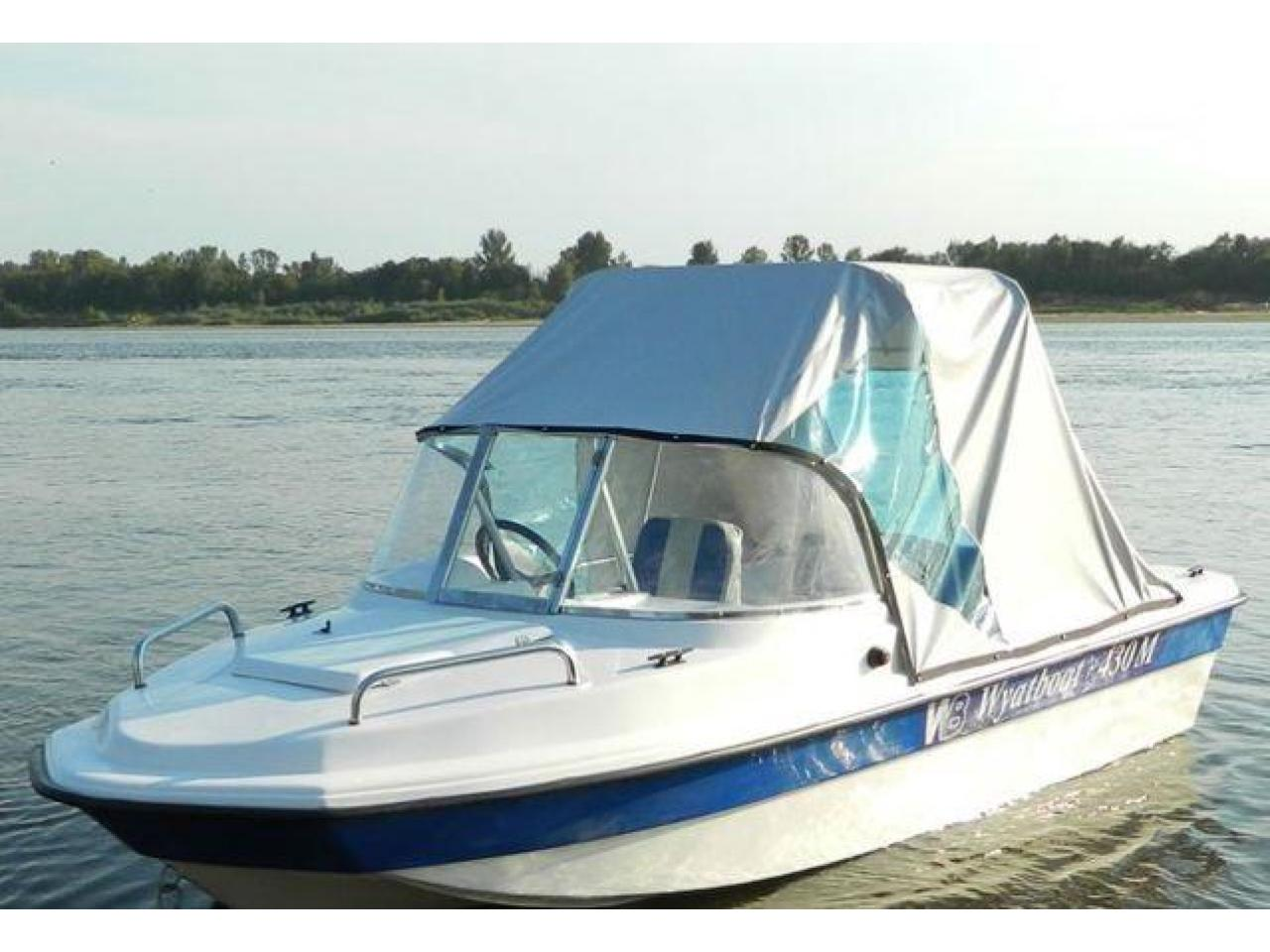 Новый катер Wyatboat 430M тримаран - 5/8